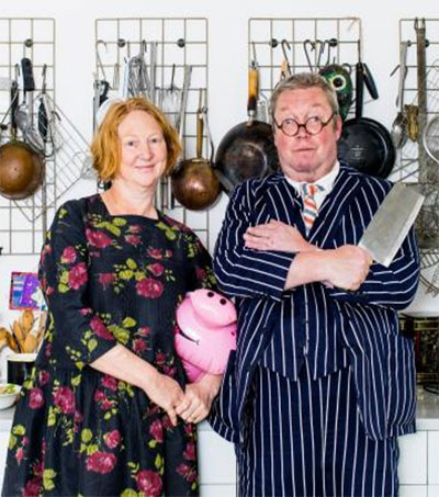 Chefs Margot and Fergus Henderson Chat to the Times