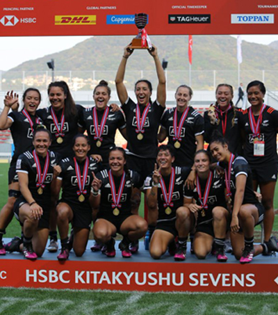 New Zealand Wins Kitakyushu Sevens