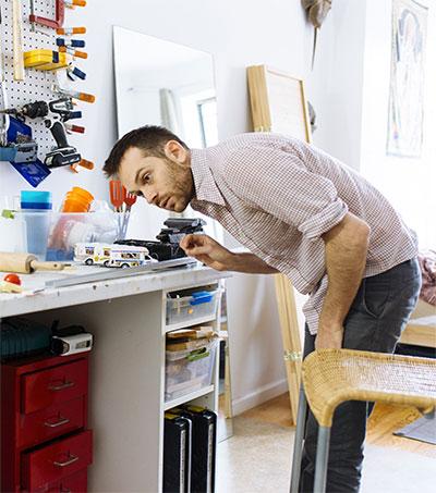 Rube Goldberg Fan Joseph Herscher Shares Tricks