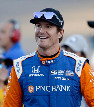 Scott Dixon Competes on American Ninja Warrior