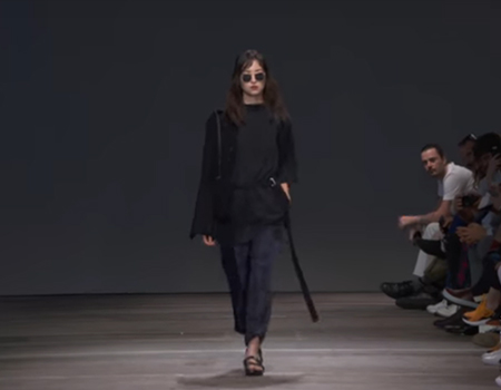 Blair Archibald in Mercedes-Benz Fashion Week Australia