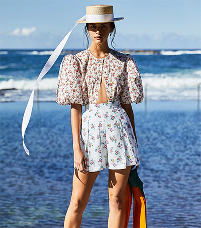 Look Forward to Summer Dressing by Emilia Wickstead