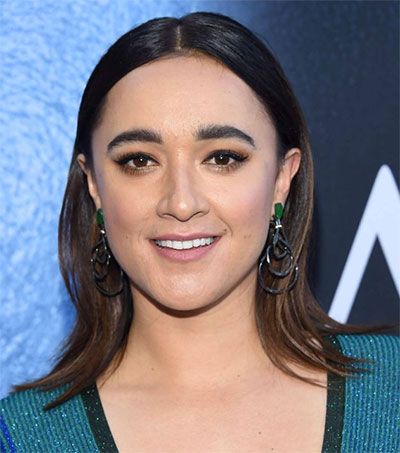 Keisha Castle-Hughes Takes to the Boxing Ring