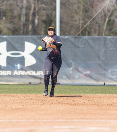 Mikayla Werahiko Glad She Chose Maryland Softball