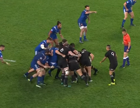 All Blacks vs. France Highlights