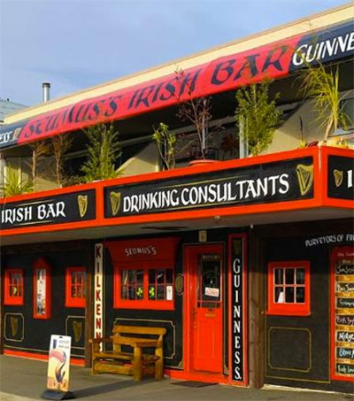 Picton's Seumus's Up for Irish Bar Award
