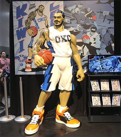 Even Bigger Steven Adams Wows in San Diego