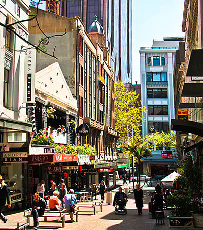 Auckland: The Economics of Shared Streets