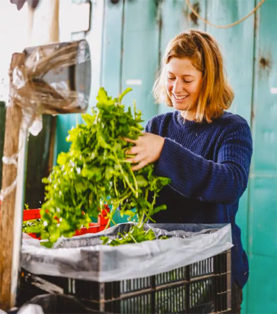 Young Leader Chloe Fox Takes Organic Farm's Reins