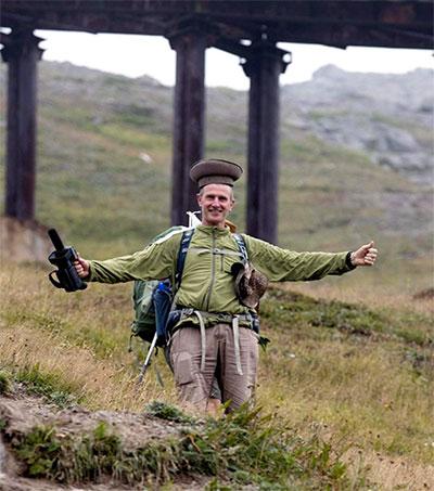 Trekking N Korea with the Intrepid Roger Shepherd