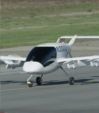 Air NZ Partners with Larry Page on Electric Air Taxis