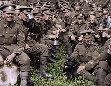 Peter Jackson on WWI Film
