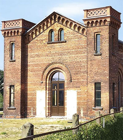 Peter Macky Renews Historic German Train Station