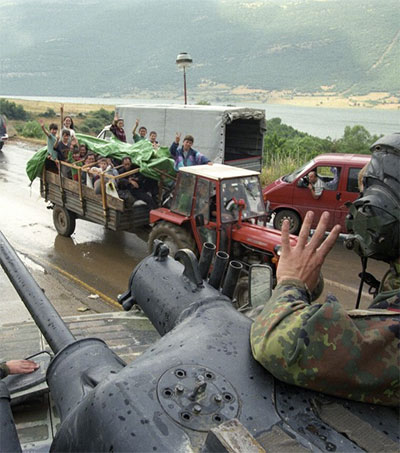 Wade Goddard's View of the Kosovo War