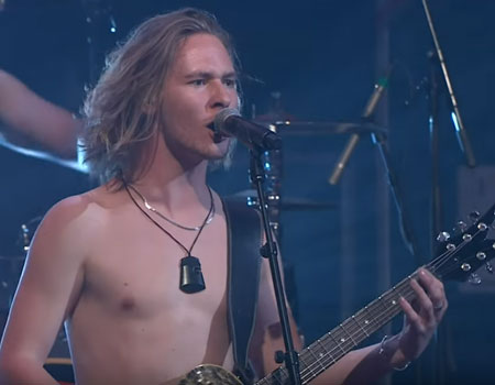Alien Weaponry Live Performance