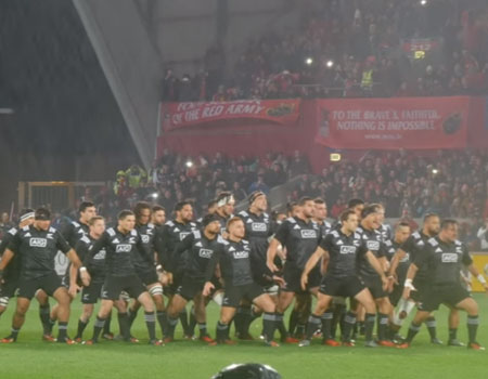Maori All Blacks  Anthony Foley Tribute
