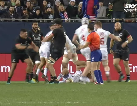 Highlights: Māori All Blacks v USA – 2018