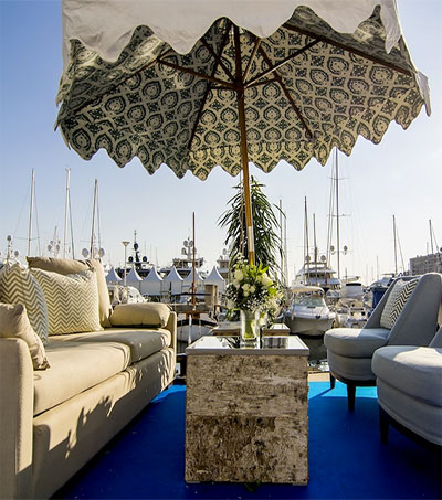 Coco Wolf at Vanguard of Luxury Yachting Furnishing
