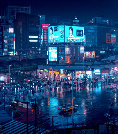 Japan's Urban Experience Shot by Cody Ellingham
