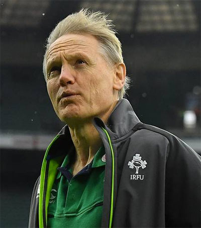 Joe Schmidt Shares Wisdom with Limerick Students