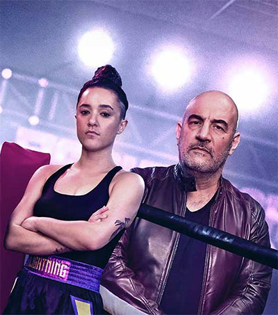 Keisha Castle-Hughes Gets into the Ring