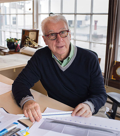 Yacht Designer Ron Holland on US Book Tour