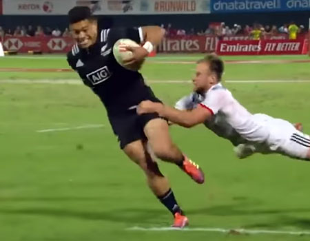 All Blacks 7s in Dubai Highlights