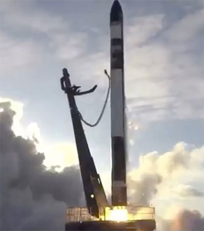 Rocket Lab Launches First NASA Mission