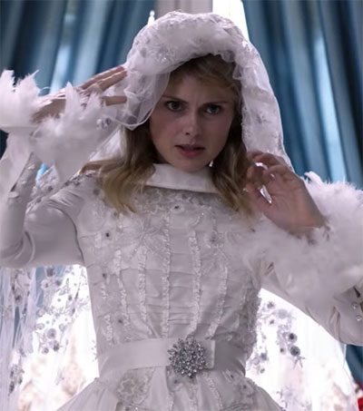Rose McIver Inspired by Duchess in Christmas Role