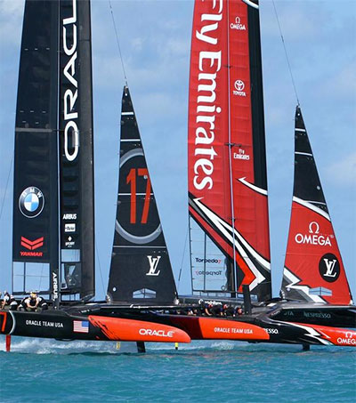 Team USA Readies to Sail in New Zealand