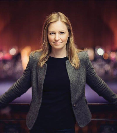 More Career Firsts for Conductor Gemma New