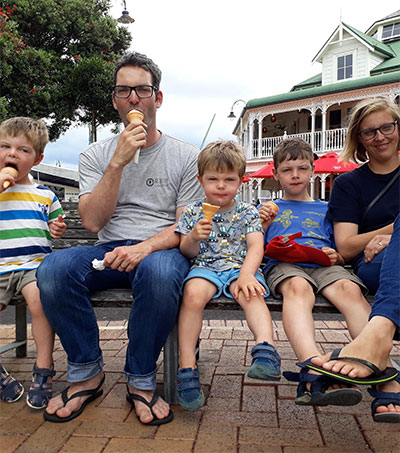No Worries for Swiss Family in New Zealand