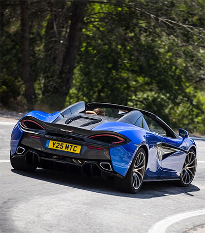 New McLaren Spider a Car with Heritage