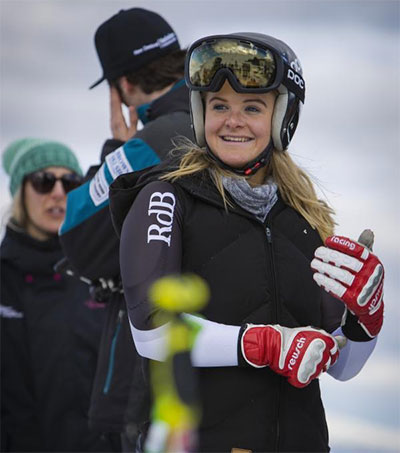Teenager Alice Robinson Wins Slalom Title in Europe
