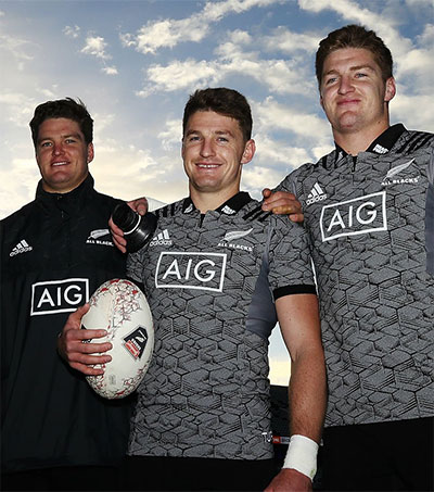 Upbringing Helped Turn Barrett Trio Into All Blacks