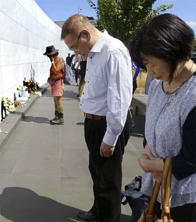 NZ Marks Eighth Anniversary of Christchurch Quake