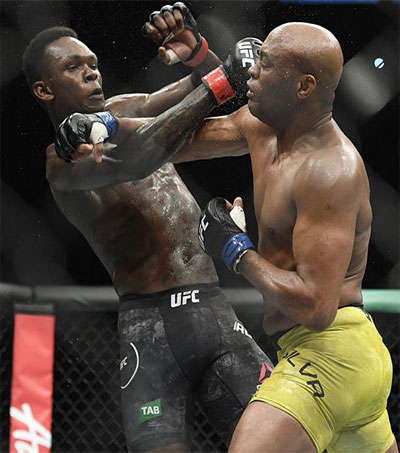 Rising MMA Star Israel Adesanya Holds off Veteran