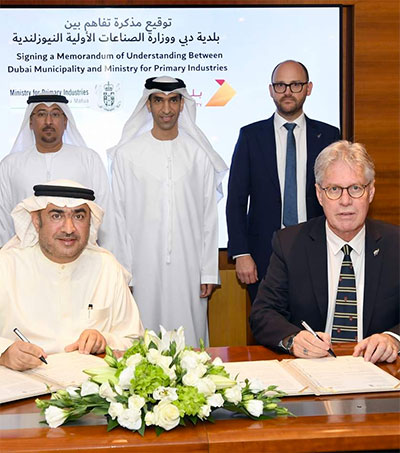 NZ-Dubai Roll Out Electronic Trade Processes