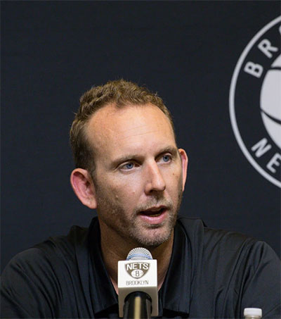 Brooklyn Nets Manager Sean Marks Bets on People