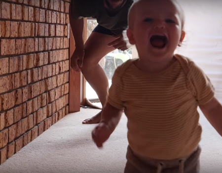 How to Dad – Teaching a Baby How to Run