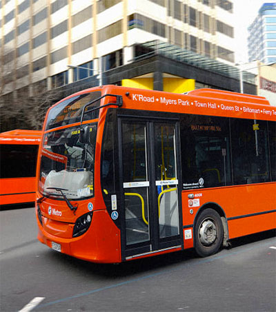 Auckland Gets More People on Its Buses