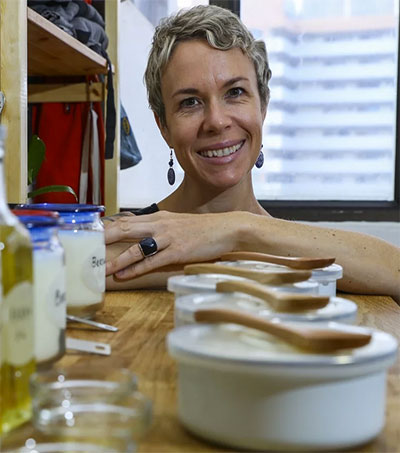 Zero-Waste Advocate Kate Mercurio Starts with Soap