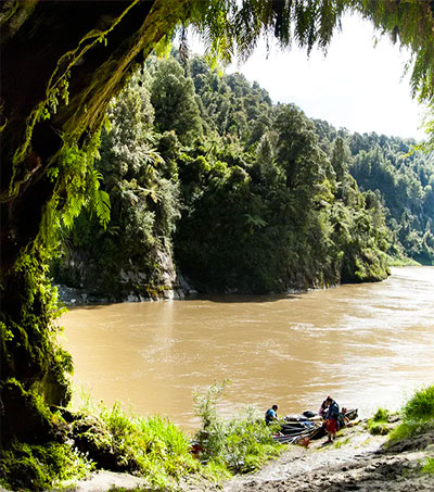 Canoeing a Living Entity in New Zealand