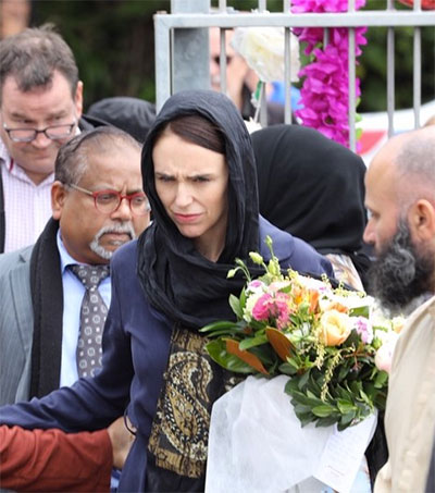 Jacinda Ardern One of World's Greatest Leaders