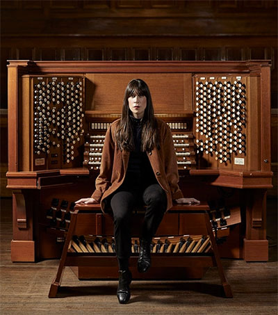 At the Organ with Sarah Mary Chadwick