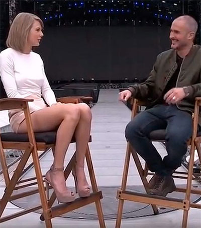 Beats 1 DJ Zane Lowe Interviews Taylor Swift
