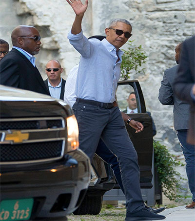 Obama Gets His Allbirds On