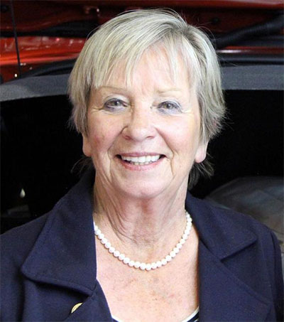 Sandy Myhre Promoting Women in Motoring Industry