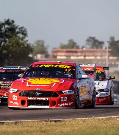 Triple Crown for Penske Driver Scott McLaughlin