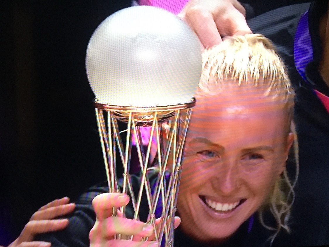 Silver Ferns Are World Champions